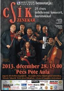 Pécs Csík zenekar koncert