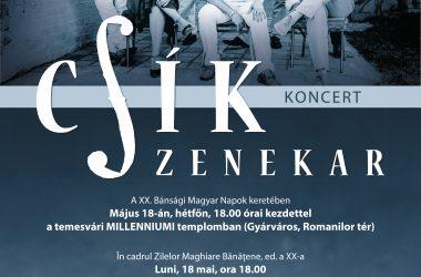 Csík Zenekar Koncert – Temesvár 2015.05.18.
