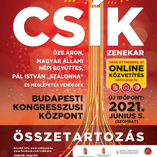Összetartozás – Óévbúcsúztató koncert ELHALASZTVA 2021. június 5-ére